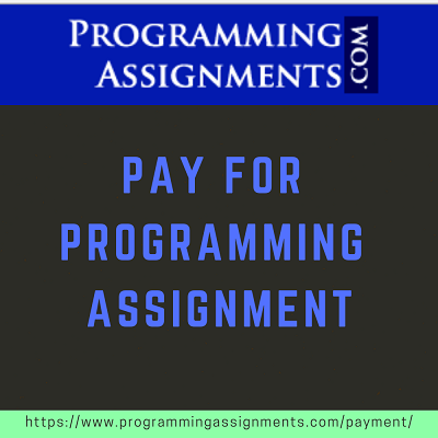Pay for Programming Assignment
