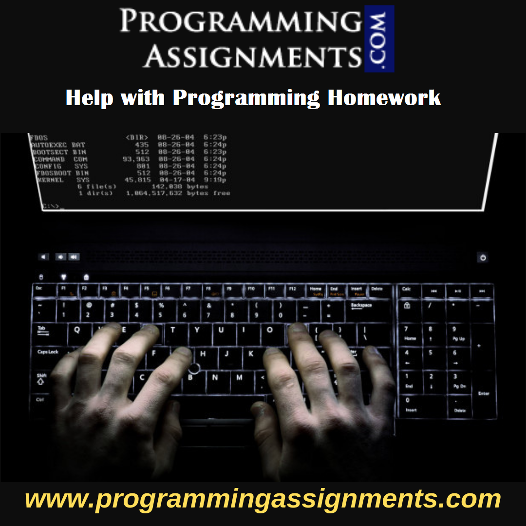 Help with Programming Homework in UK