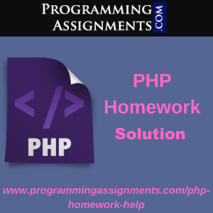 PHP Homework Solution