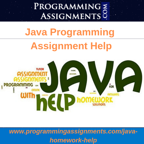 Pay for java homework